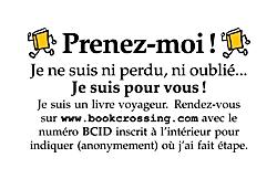 bookcrossing - prenez-moi
