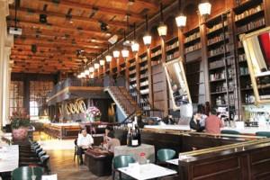 Bibliotheque-restaurant